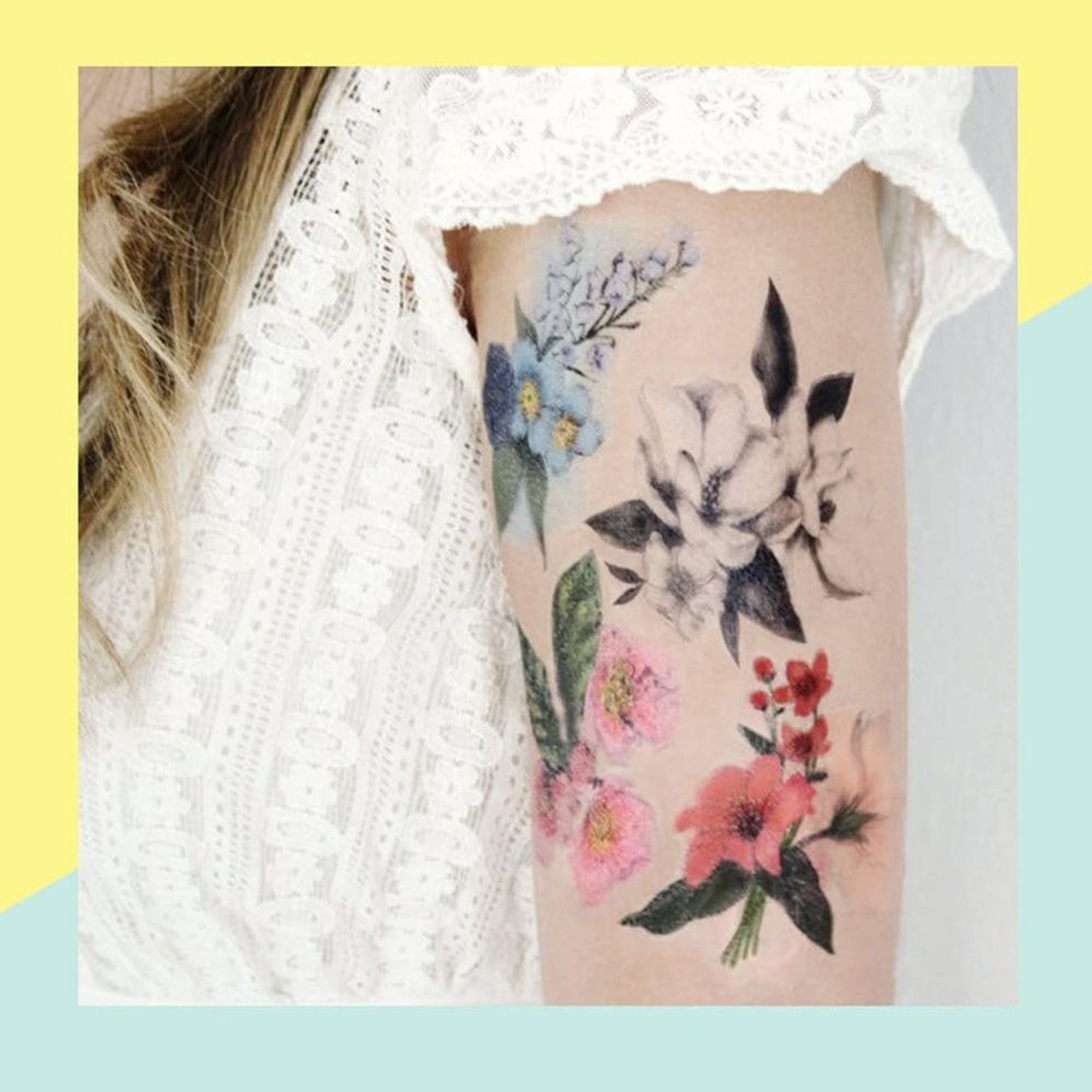 97 Jaw Dropping Henna Tattoo Ideas That You Gotta See: 7 Jaw-Dropping Temporary Tattoos When You Can't Commit