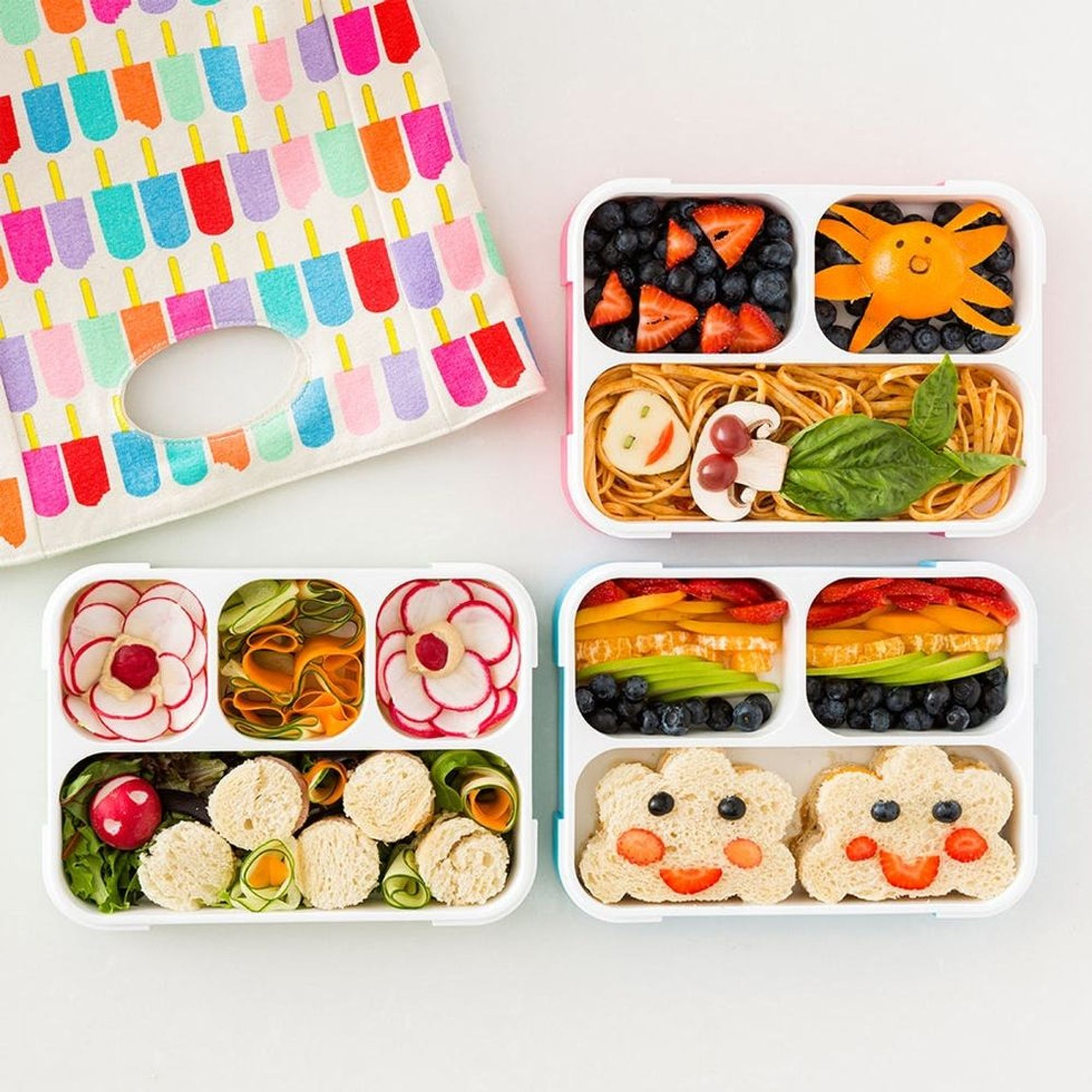 3 Quick Easy Bento Box Lunch Ideas For Back To School
