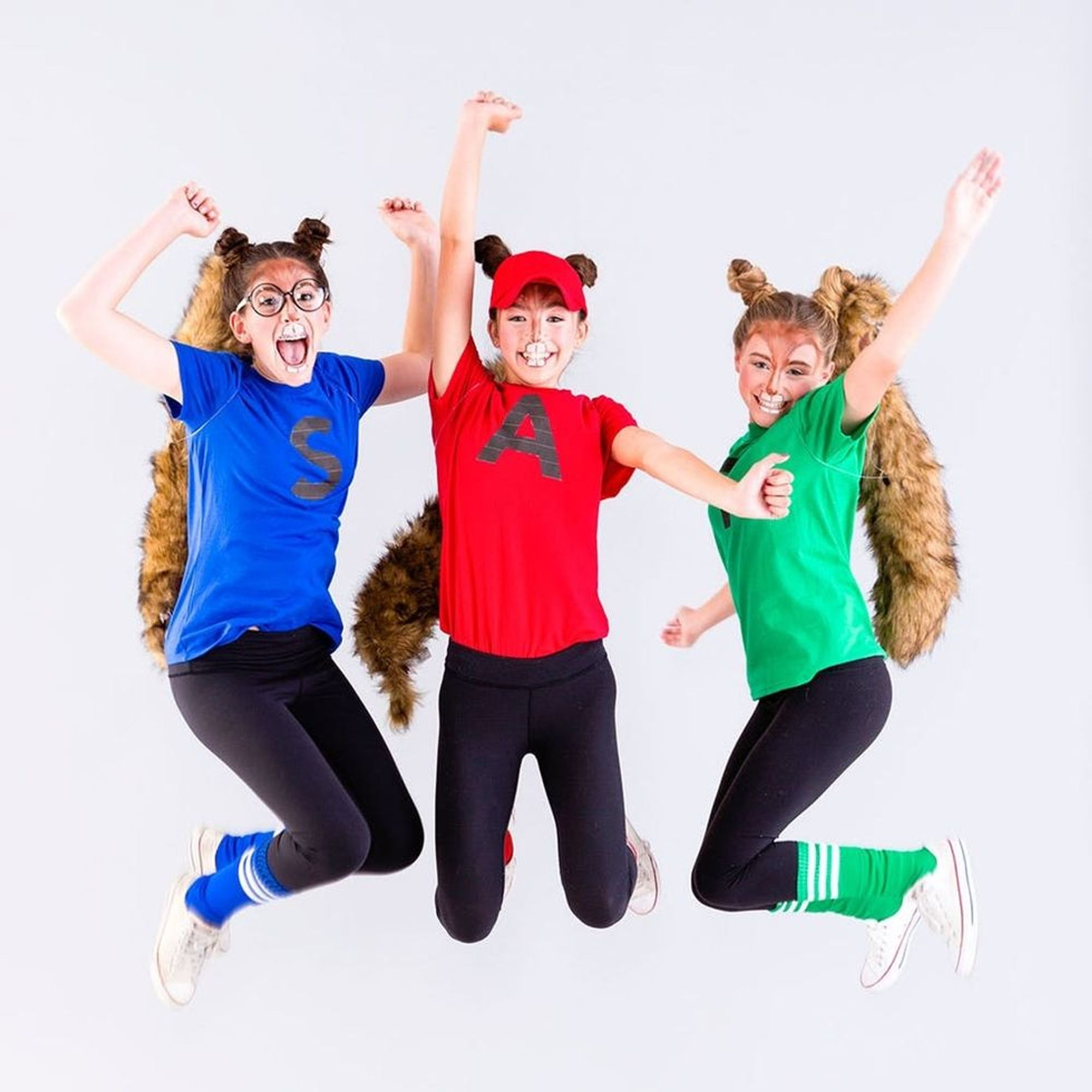 This Alvin And The Chipmunks Costume Is The Perfect Tweens Group Costume Brit Co
