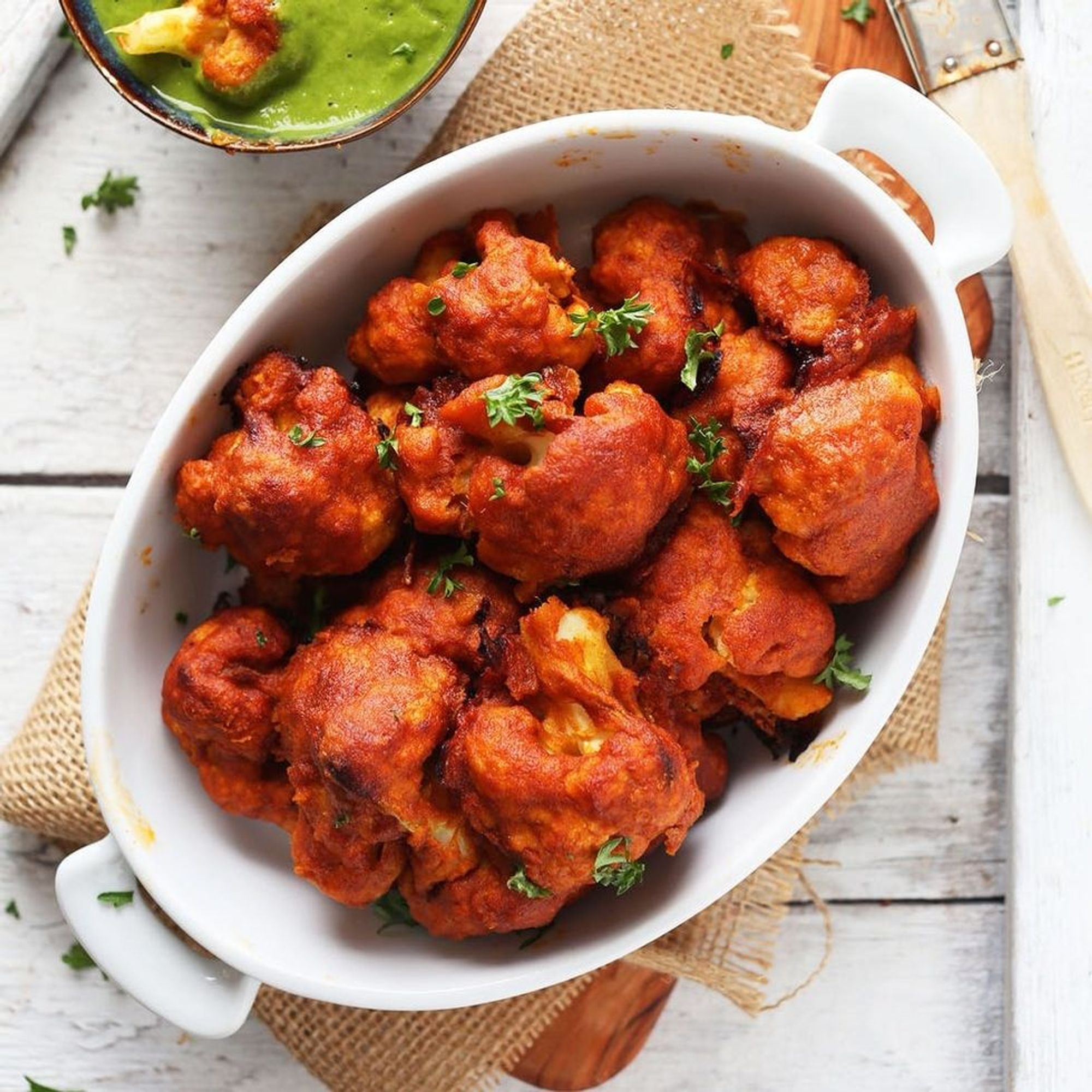 """14 Vegan Cauliflower """"Wings"""" to Get You Hungry for Game Day"""
