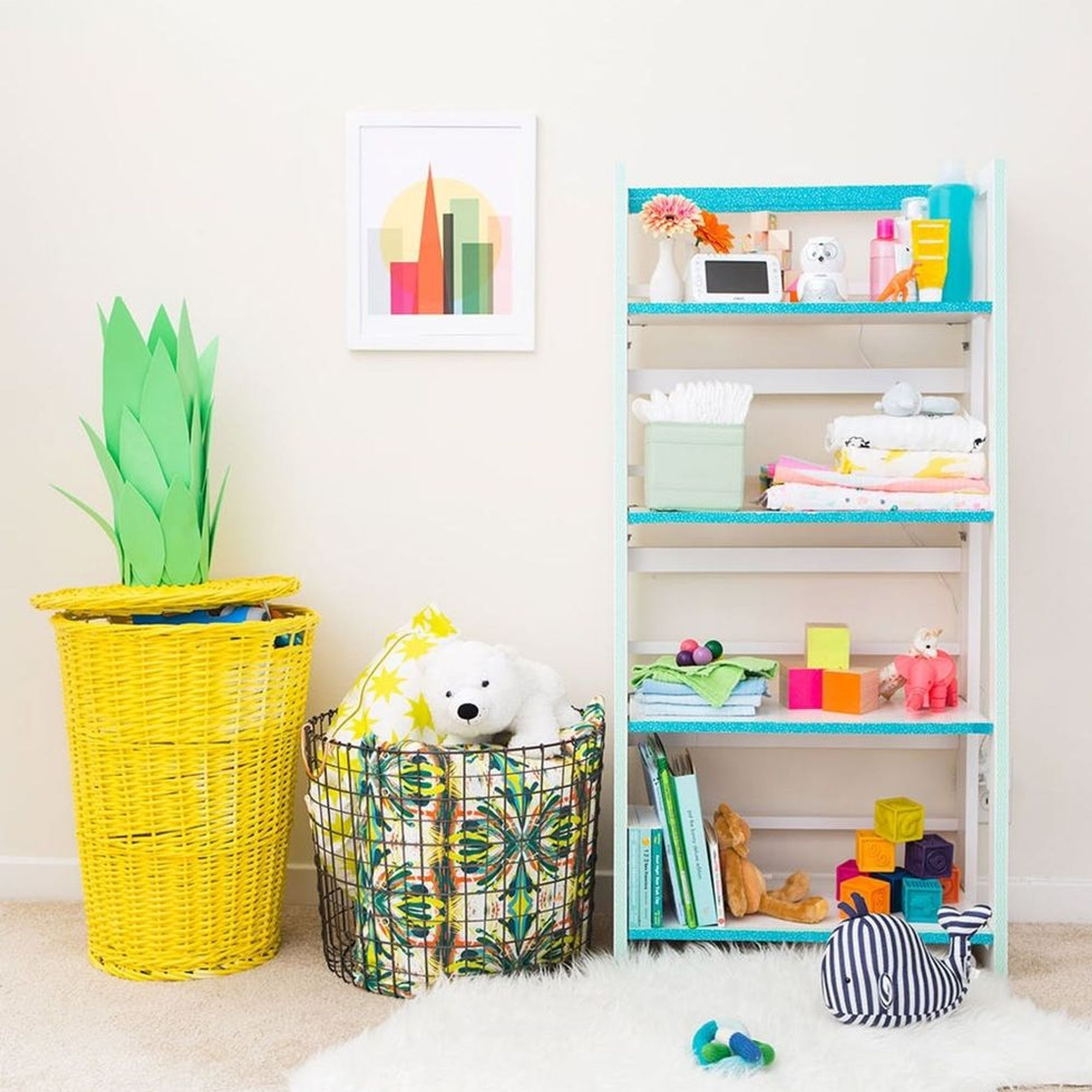 How To Decorate an Adorable *and* Sensible Nursery