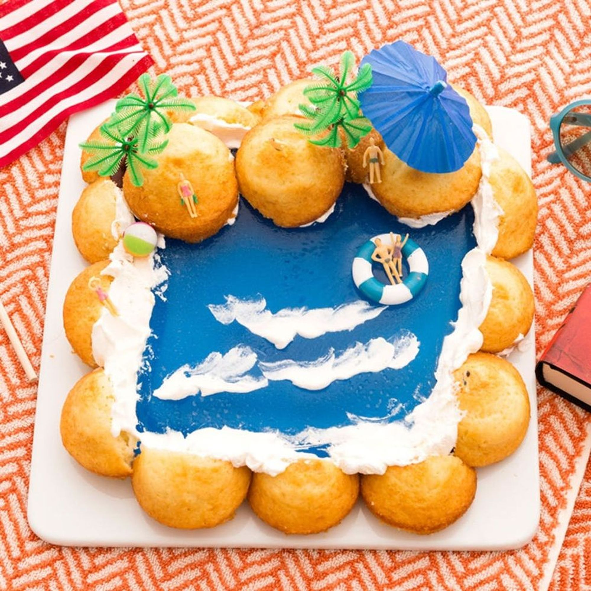 Make a Splash at Your Next Party With This DIY Pool Cake