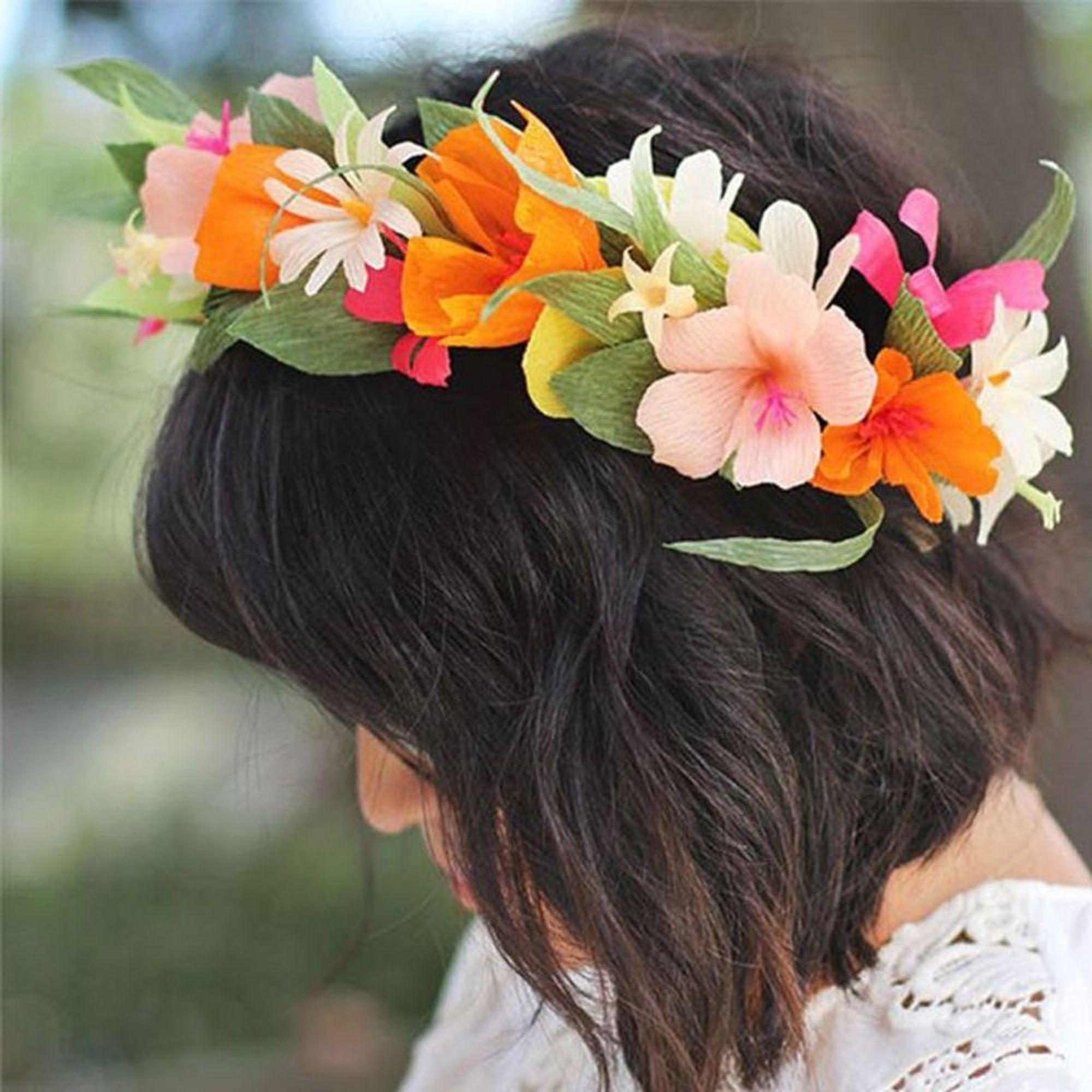 Valentine's paper flower wreath | Paper flower wreaths, Diy flower ... | 2000x2000