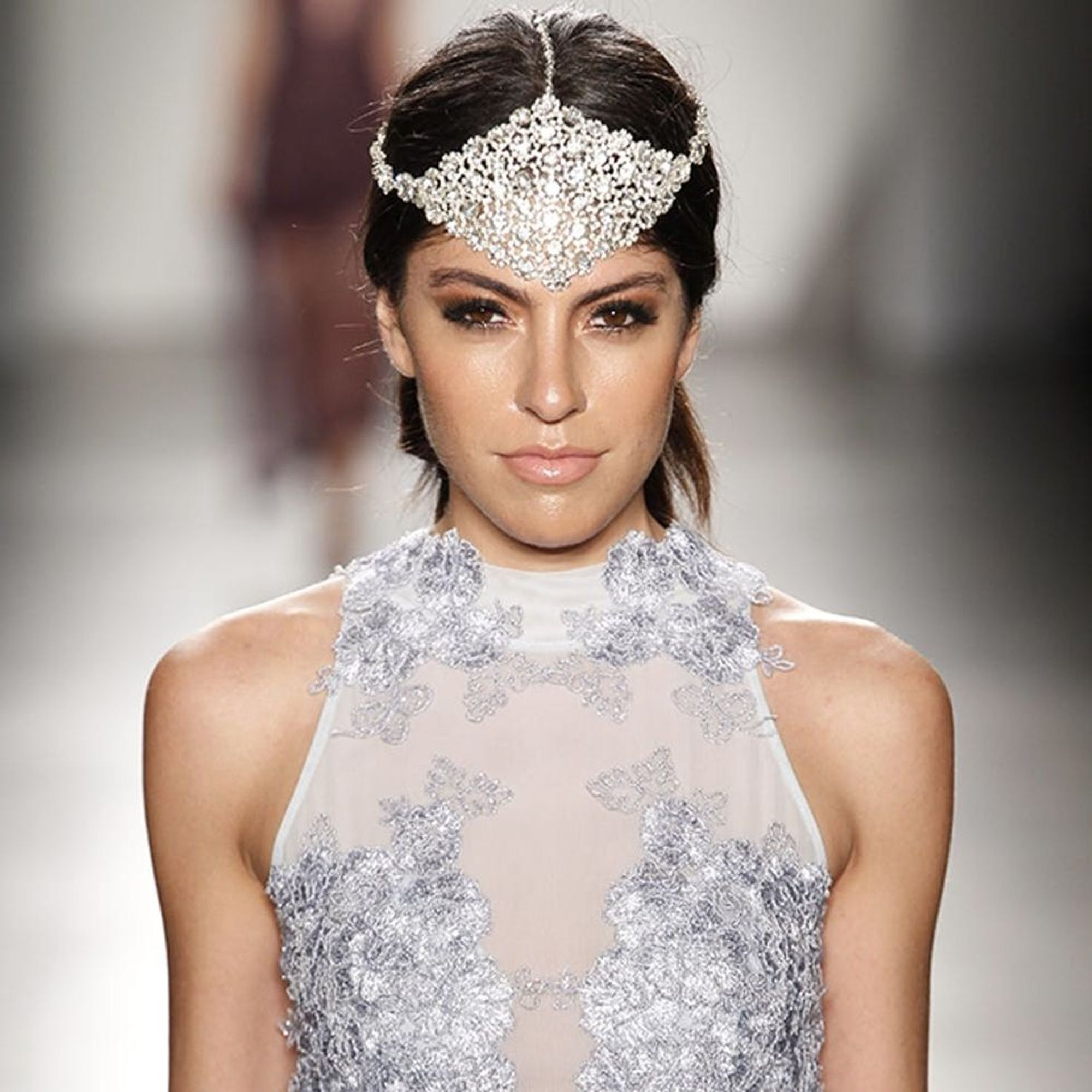 Wedding Hairstyles For Long Hair 24 Creative Unique: 24 Runway-Inspired Hair, Makeup + Style Looks For Every