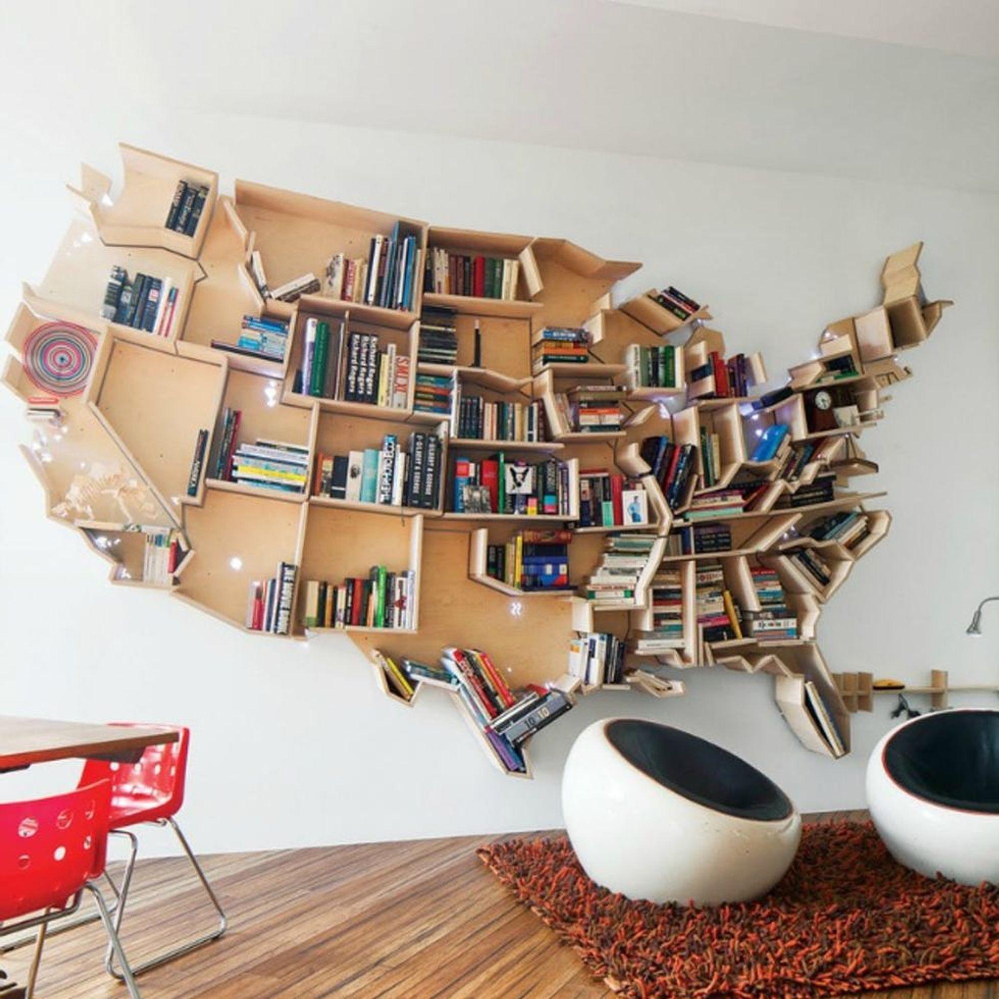 14 Amazing Bookshelves For Book