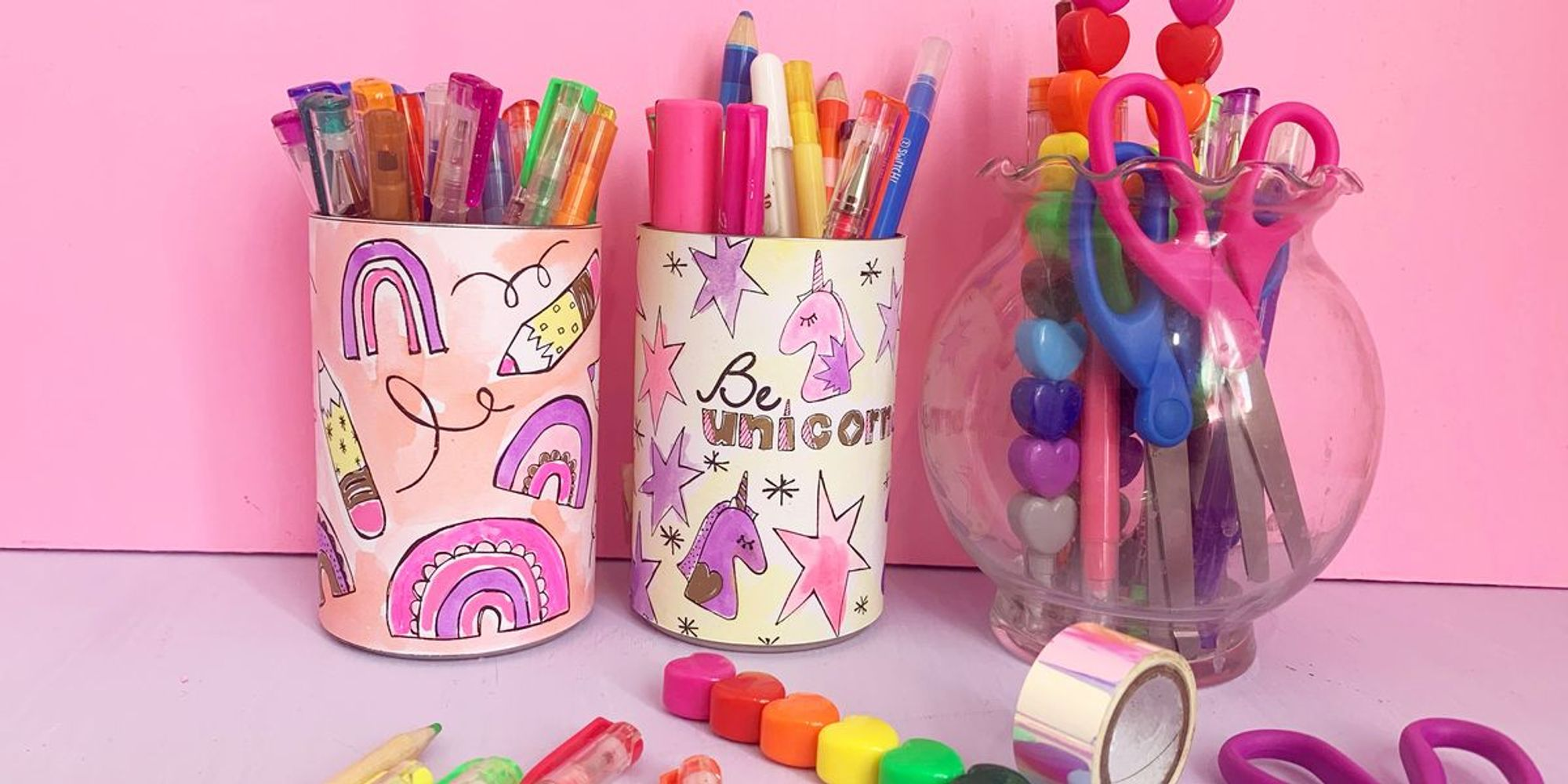 5 Benefits of Coloring With Kids + DIY These Cute Pencil Holders!