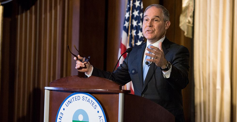 EPA: Pruitt is expected to restrict science. Here's what it means.
