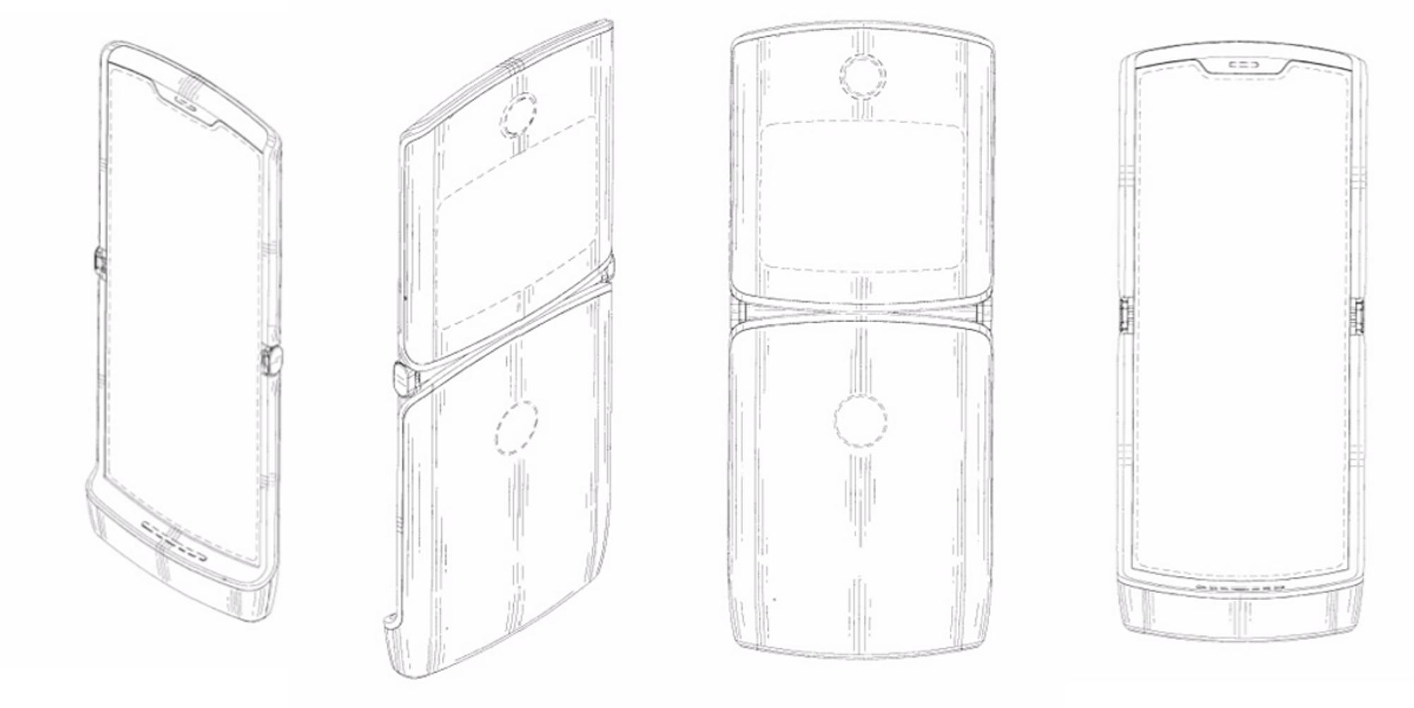 Motorola RAZR reborn: Folding phone spotted in IP filing