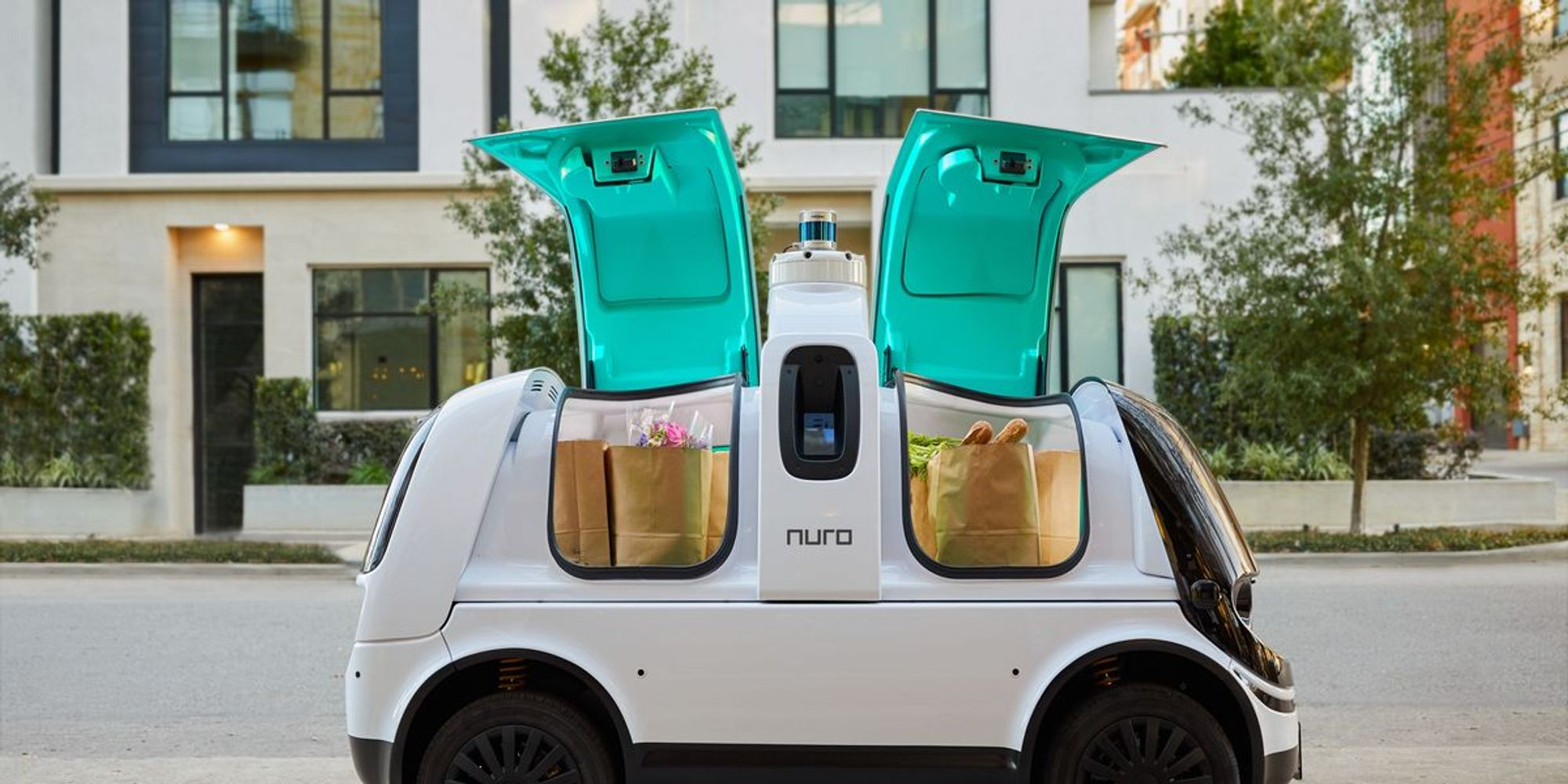 'It's truly contactless': In a new world, Nuro's delivery pods gain new virtue